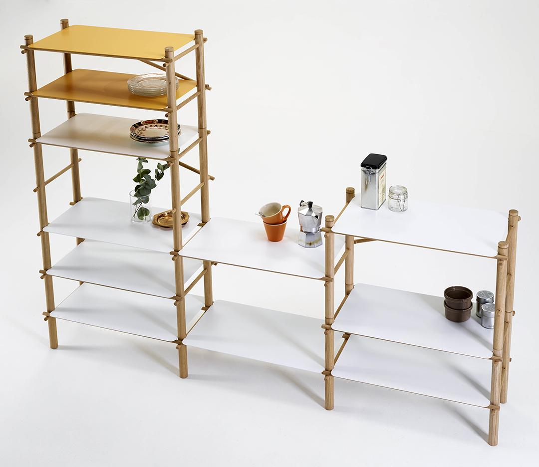 Elegant Andamio Shelf   Set