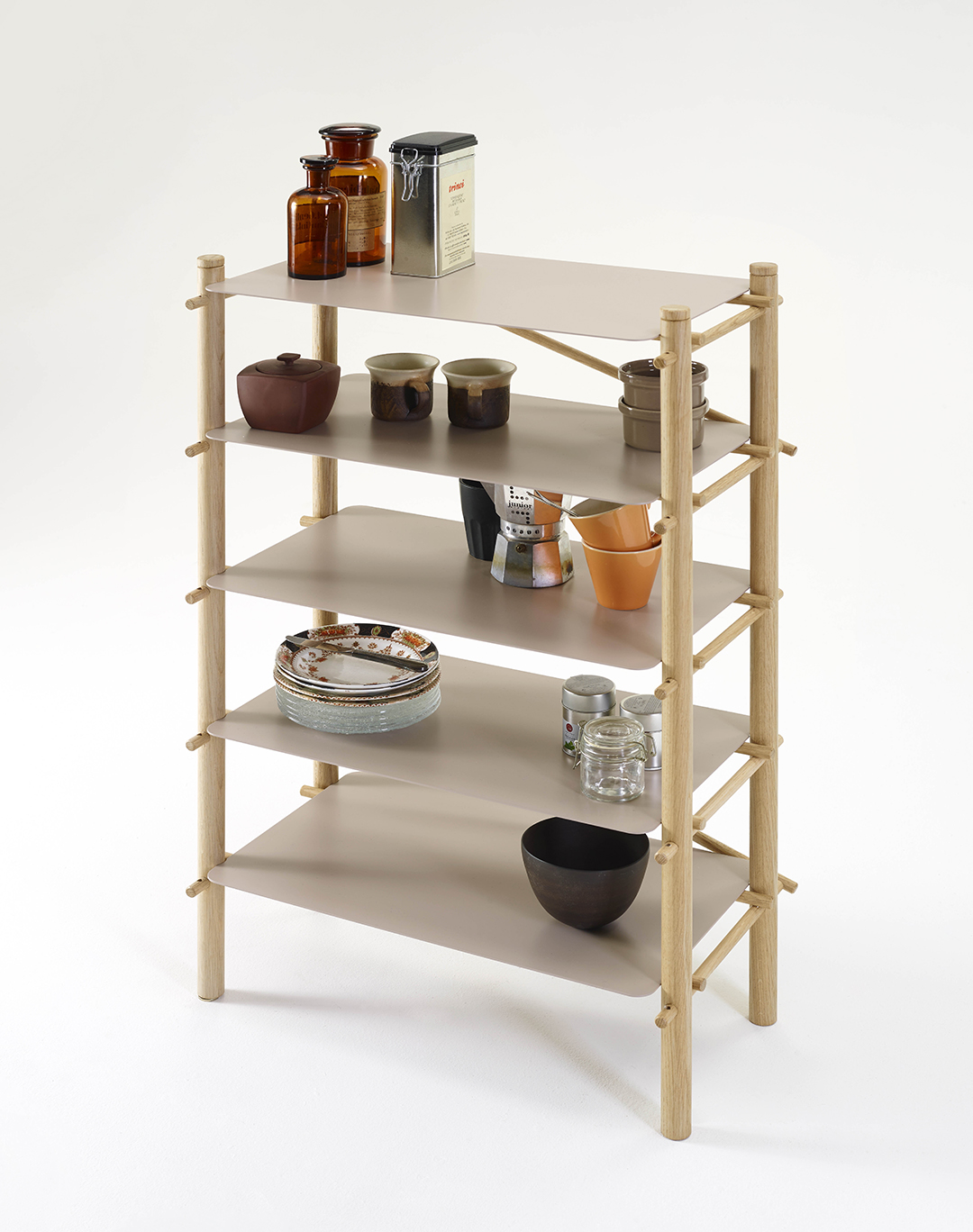 Andamio Shelf - set