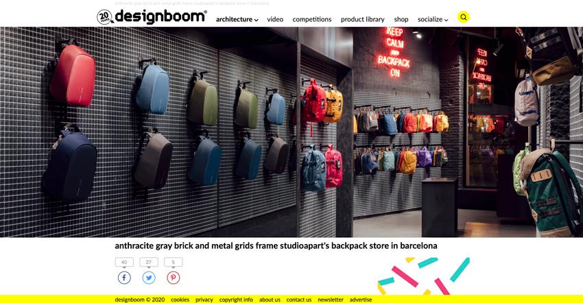 Catbag in Designboom